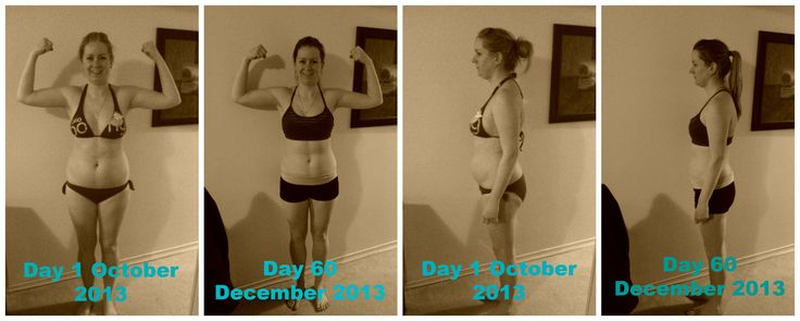 Before and After doing Slim in 6! Amazing program for beginners, amazing results!  Lost 10 inches in my waist alone!