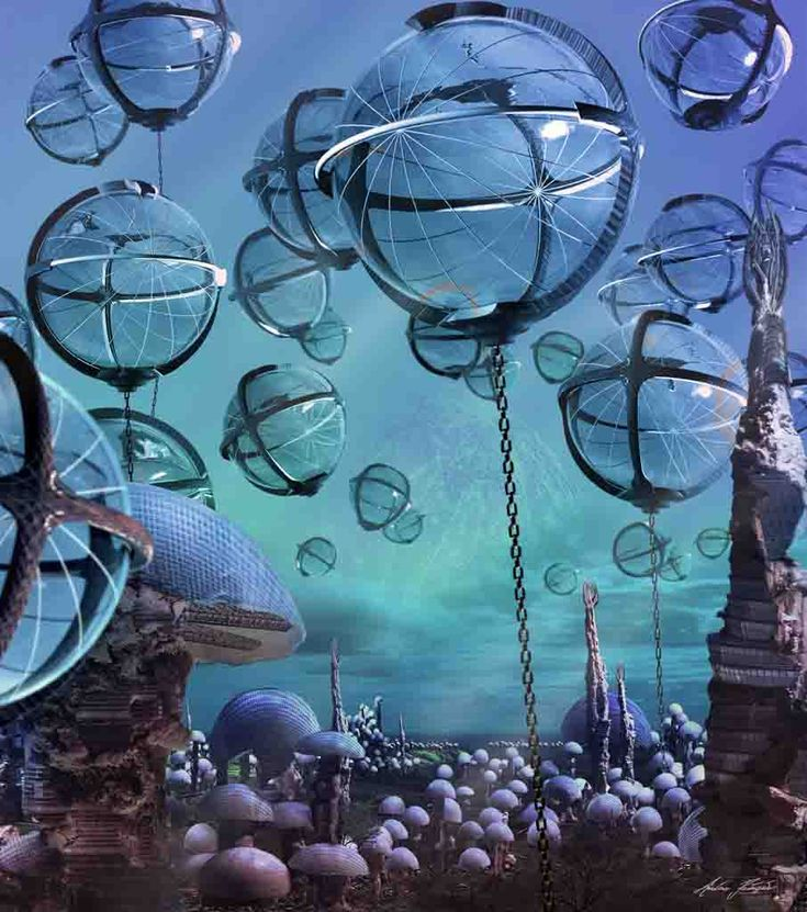 OPPOSITE WORLD LIVING BALLS photography, digital art