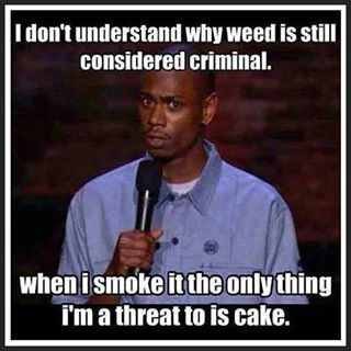 Why is weed still considered criminal?  Dave Chappelle can be so funny... Weed h...