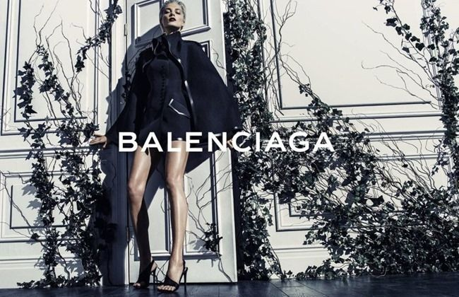 CAMPAIGN: Daria Werbowy for Balenciaga Spring 2014 by Photographer Steven Klein - Image Amplified: The Flash and Glam of All Things Pop Culture. From the Runway to the Red Carpet, High Fashion to Music, Movie Stars to Supermodels.