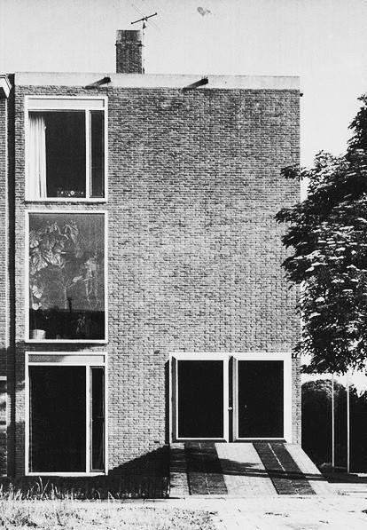 Renaat Braem. Casa propia en Amberes, 1957/61.