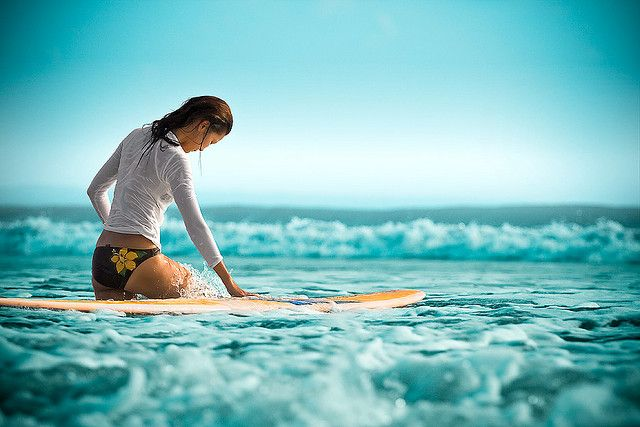 I wish I could have been a surfer girl..........