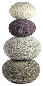 Lounge Small Pouf - contemporary - ottomans and cubes - Made in Design