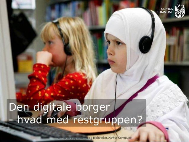 Digitalisering   hvad med restgruppen - Slideshow