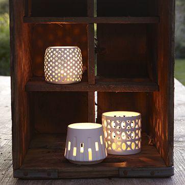 I love the Porcelain Candleholders on westelm.com