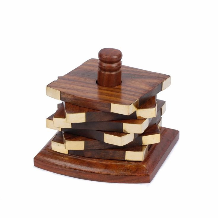 extraordinary inspiration drink coaster. Wooden Coaster Set of 6  Tower Hanoi Design 16 best wooden coaster holders images on Pinterest
