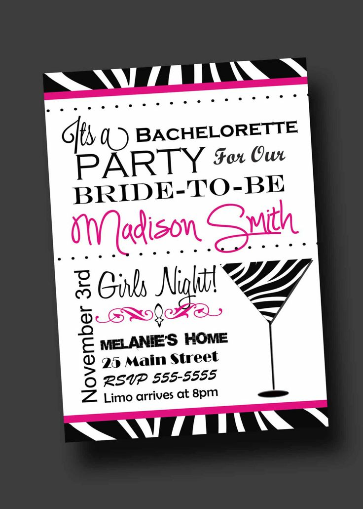 95 best Bachelorette Invites images on Pinterest | Bachelorette ...
