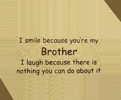 I love my brothers. James, Aaron, Weston, Cliffton, and of course my Big Brother…