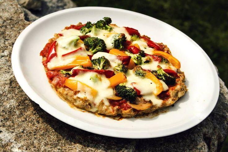 Recepty na hubnutí - Pizza z kuřecího těsta