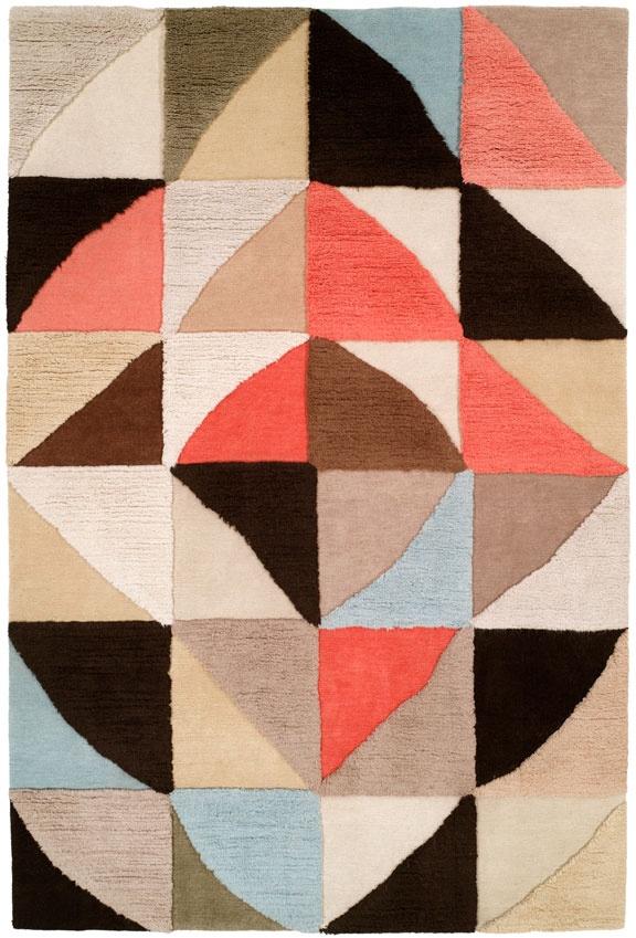 Doug and Gene Meyer rug. Graphic rug.