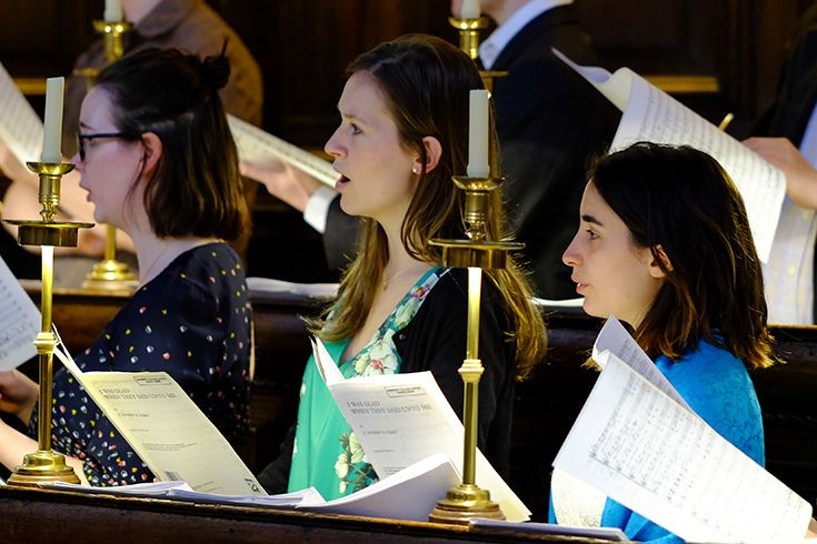 Choral Evensong Choir Reunion May 2017 - Image courtesy and © of Hugh Warwick