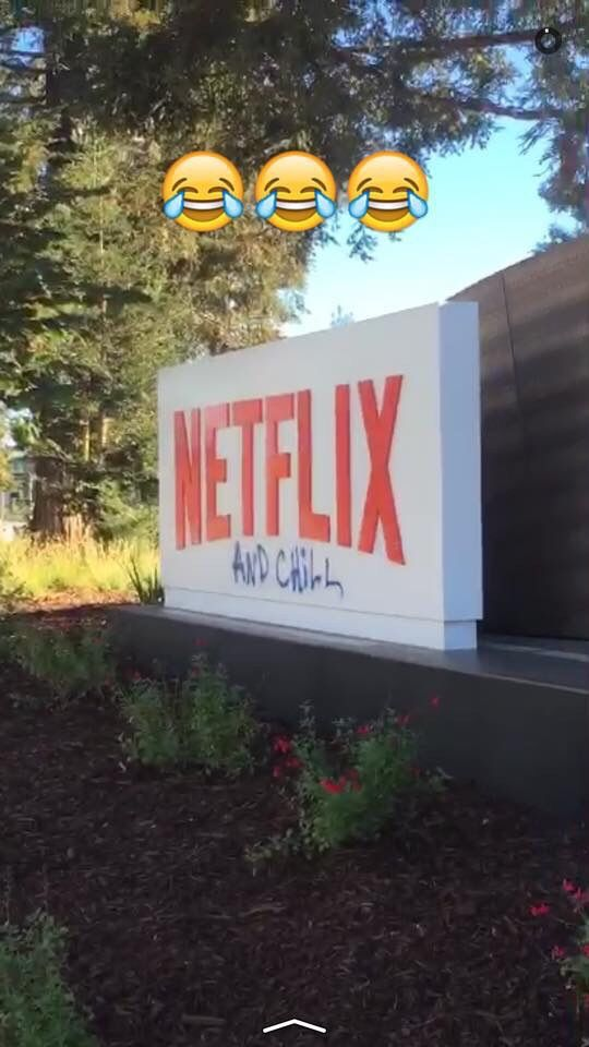 Looks like Netflix changed their name (Netflix corporate offices this morning) #Followme #CooliPhone6Case on #Twitter #Facebook #Google #Instagram #LinkedIn #Blogger #Tumblr #Youtube