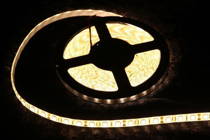 Strip Lighting LED Warm White SMD5050 IP65 5M Roll 14.4w/m 60 LEDs/m A$32.45 www.ecoindustrialsupplies.com