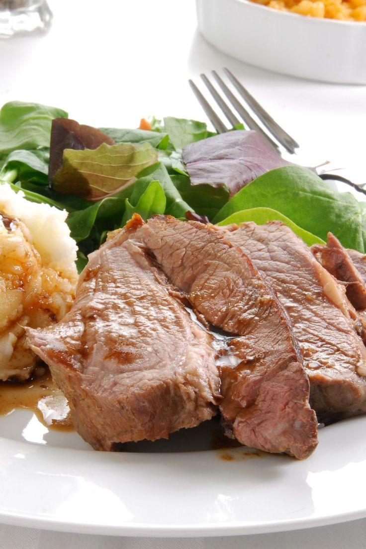 Steak With Potato-Parsnip Mash Recipe: Food Recipes, Mashed Recipes ...