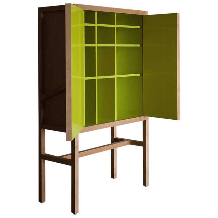 Inside-Out Credenza Lungo, Fine Cupboard Lacquer Finish. Liquor Storage  $5,800 per item