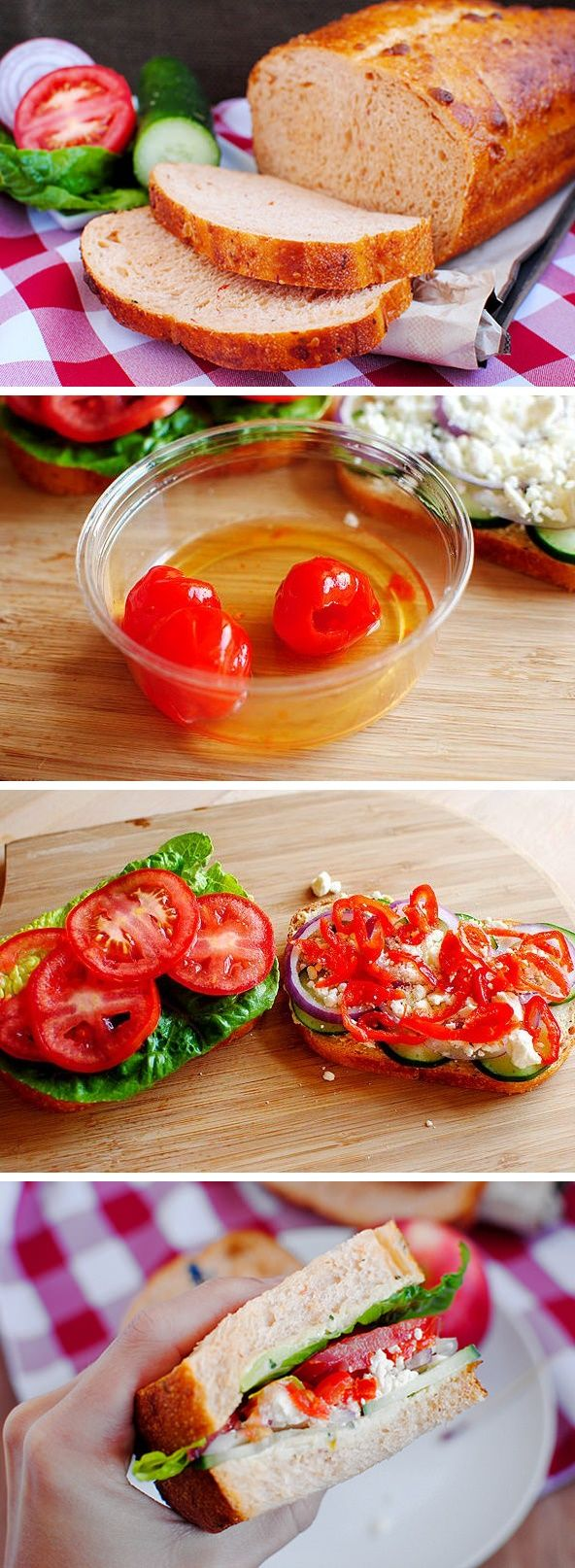 Copycat Panera Mediterranean Veggie Sandwich Recipe + 5 Tips to Build a Better Sandwich