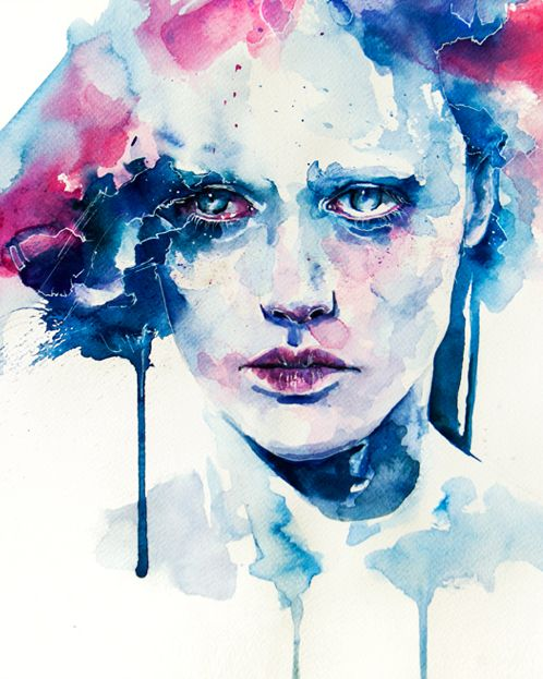 agnes cecile  Probably 1 of my fave paintings by my fave watercolor artist!