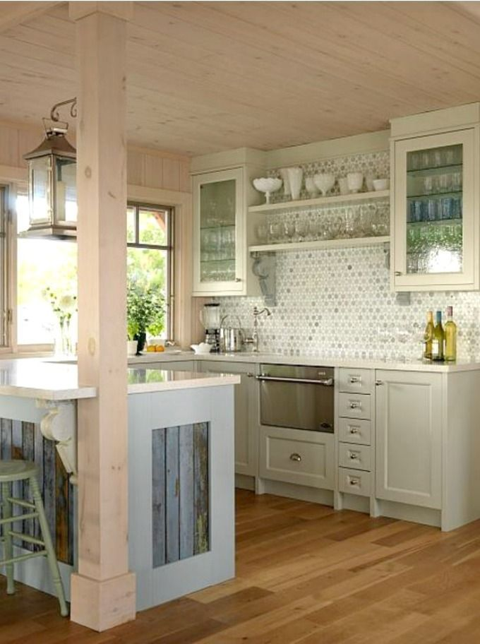 17+ Best Ideas About Small Cottage Kitchen On Pinterest | Cottage