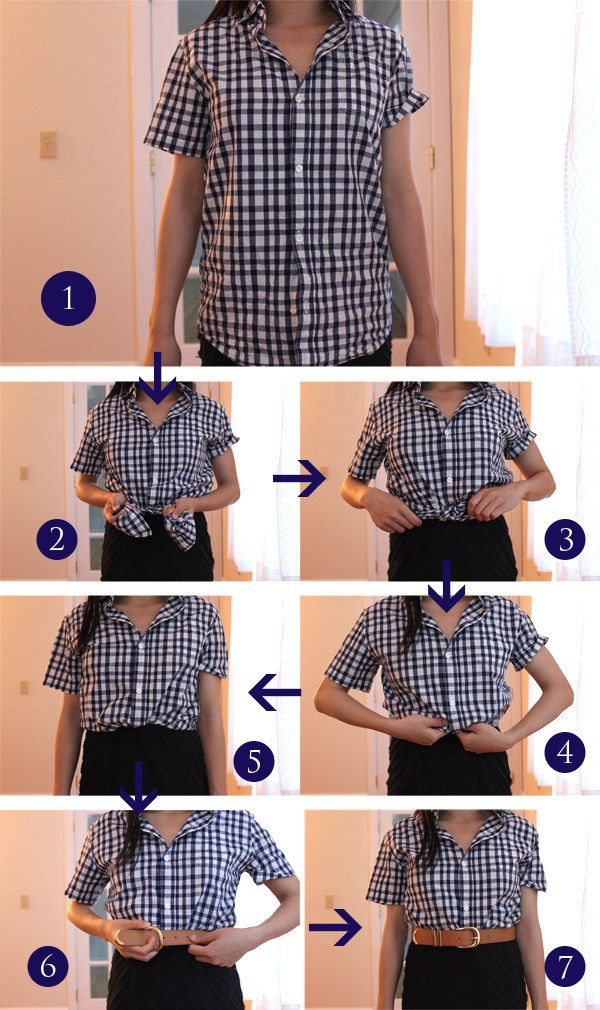 Use this trick for wearing a belt over a tucked-in shirt   16 Ways To Tuck, Tie, Roll, And Twist Your Clothes Like A Stylist