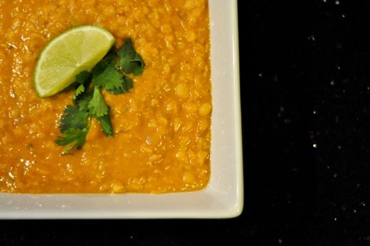Red lentil coconut soup | Thankfifi - UK fashion blog by Wendy H ...