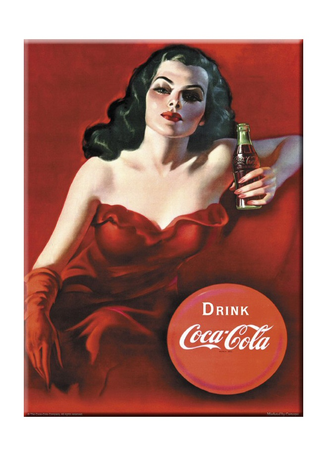 French Vintage Karton afiş - coca-cola brazilian lady 24 x 32 cm Markafoni'de 9,99 TL yerine 6,99 TL! Satın almak için: http://www.markafoni.com/product/3266789/