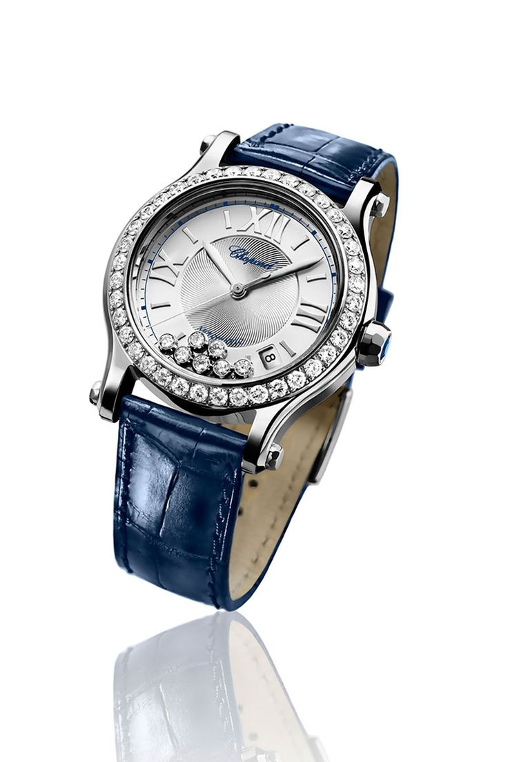 Chopard Happy Sport Watch (Photo Courtesy of the brand) Baselworld 2013 accesorios relojes Chanel Dior Hermes Cartier Swarovski