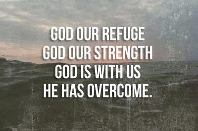 God is my refuge...