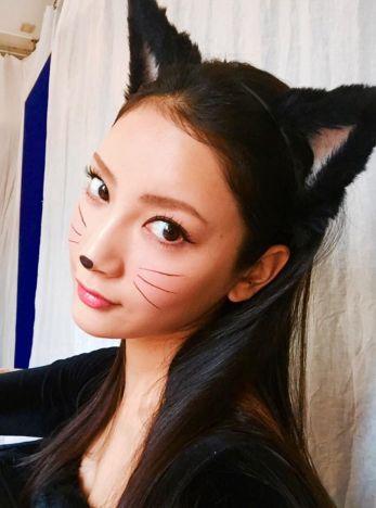 海外で人気の簡単で可愛いハロウィンメイクのやり方を学ぼう!【動画 ... 奈々緒 黒猫