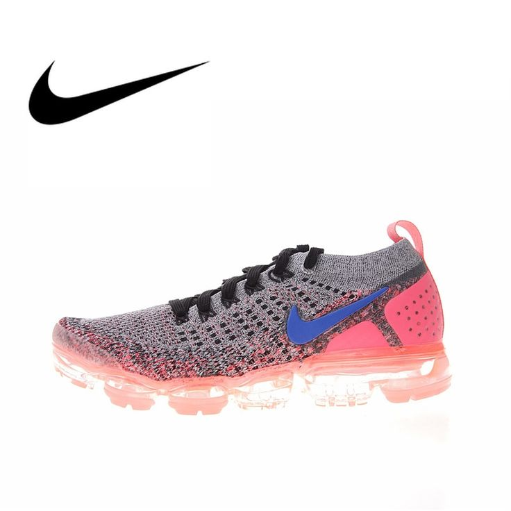 Original Authentic Nike Air Vapormax Flyknit <b>Men's Running Shoes</b> ...