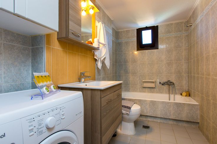 Villa Maria, Pigi village, Rethymno, Crete, Greece sinatsakisvillas.gr #villa #rethymno #crete #greece #village #island #vacation_rental #luxurious_accommodation #private #summer_in_crete #visit_greece #bathroom