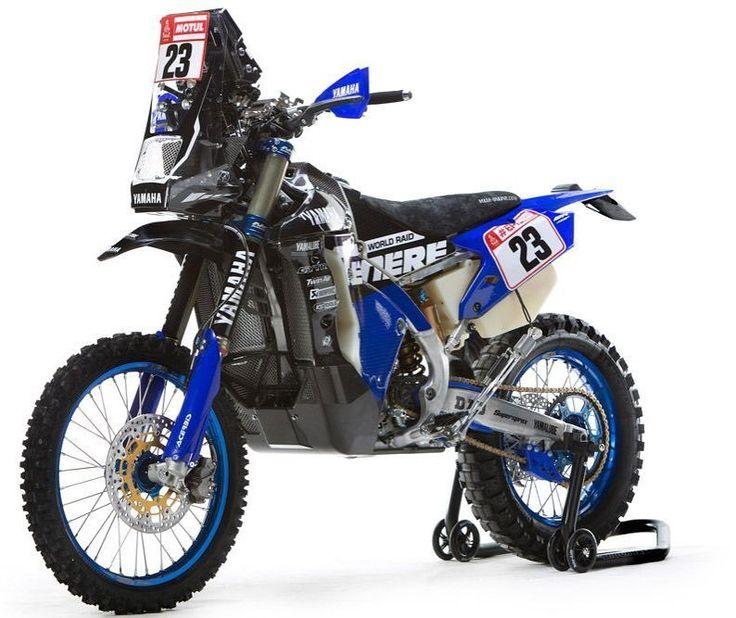 Yamaha WR450F-Dakar2018