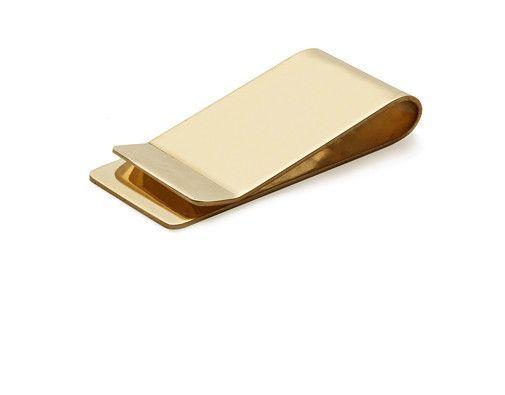 Brass Money Clip - Kaufmann Mercantile