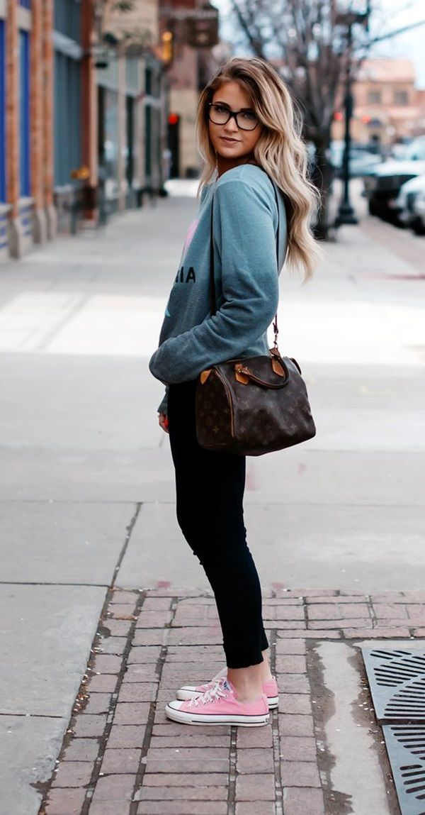 45 Comfy College Girl fashion Outfits to carry your Attitude   Fashion    Pinterest   Outfits, Fashion outfits and Fashion 5f695786ef