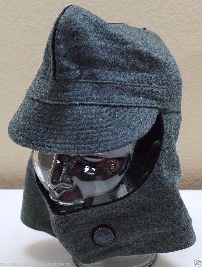 Swiss K31 Army Grey gray wool hat cap size 55cm 6 7 8 21 5 8 small each  H126  438c0e1deba