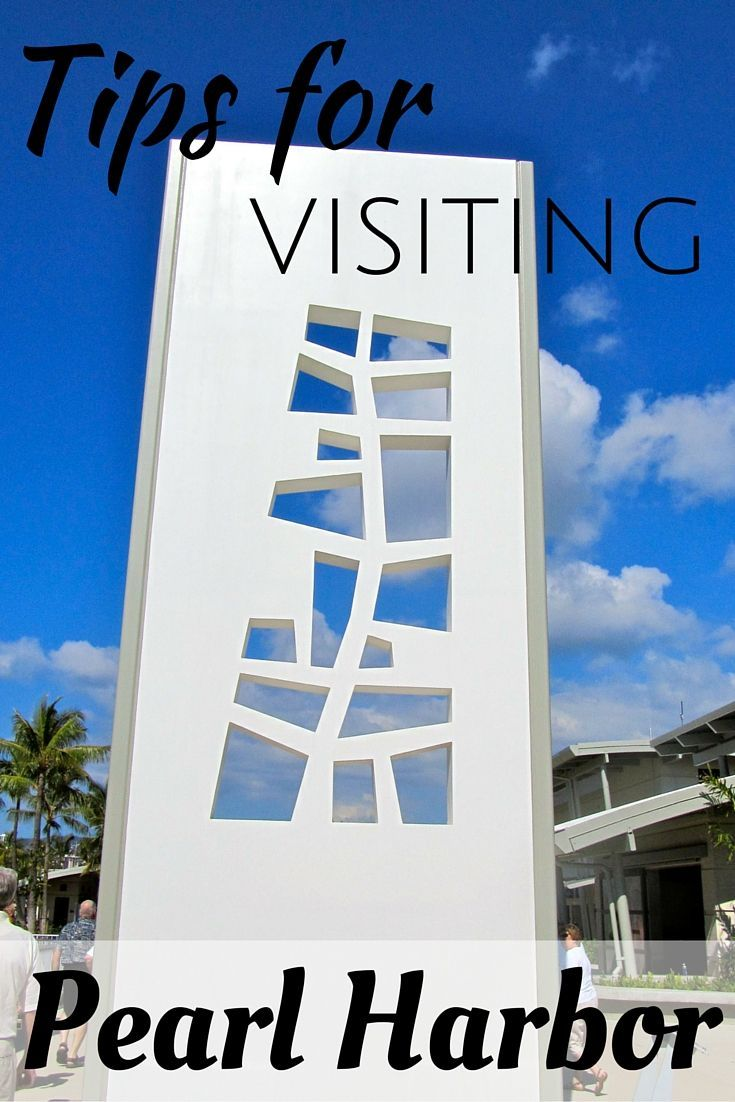 Tips for Visiting Pearl Harbor  #hawaii #pearlharbor #honolulu #oahu