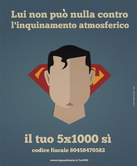 #campagna #stampa #5x1000 #Legambiente #Slash