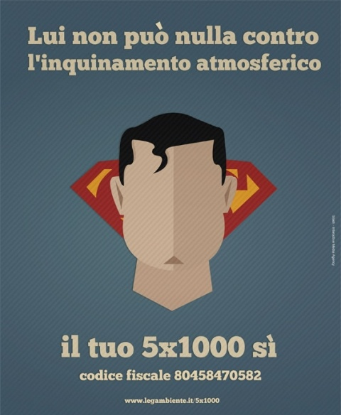 #campagna #stampa #5x1000 #Legambiente firmata #Slash http://bit.ly/HOGLlQ