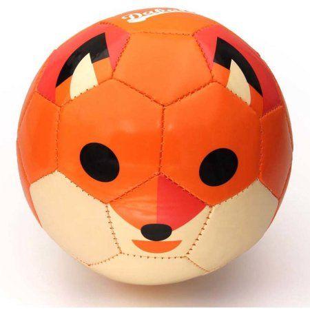 Daball Toddler Soft Soccer Ball, Orange