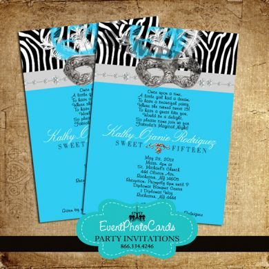 79 best sweet 15/ quinciañera - invitation images on pinterest, Birthday invitations