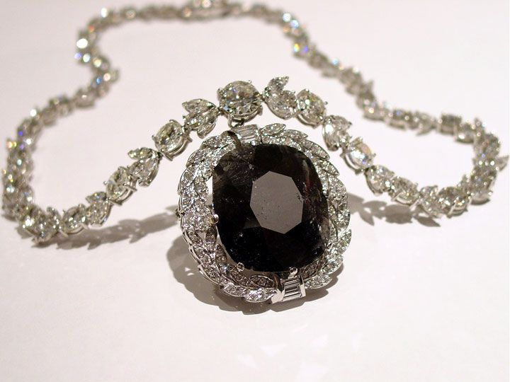 The Black Orloff Diamond. A 68 carat stunner originally owned by Catherine the Great and passed down through the Russian royal family.