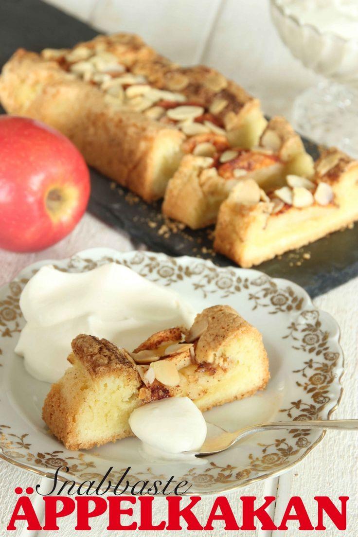 Snabbaste äppelkakan | Tidningen Hembakat