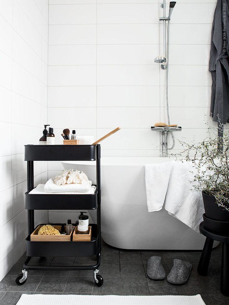 17 best images about ikea badezimmer - spa on pinterest | mirror, Hause ideen
