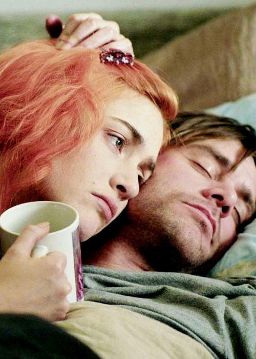 Eternal Sunshine of the Spotless Mind. If you don't like this movie, don't tell me. I judge people who tell me they don't like this movie.