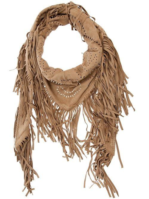 Women - All - Treasure Fringed Scarf - Tessabit.com – Luxury Fashion For Men and Women: Shipping Worldwide