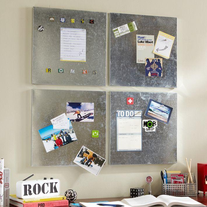 square galviboard tiles & magnets