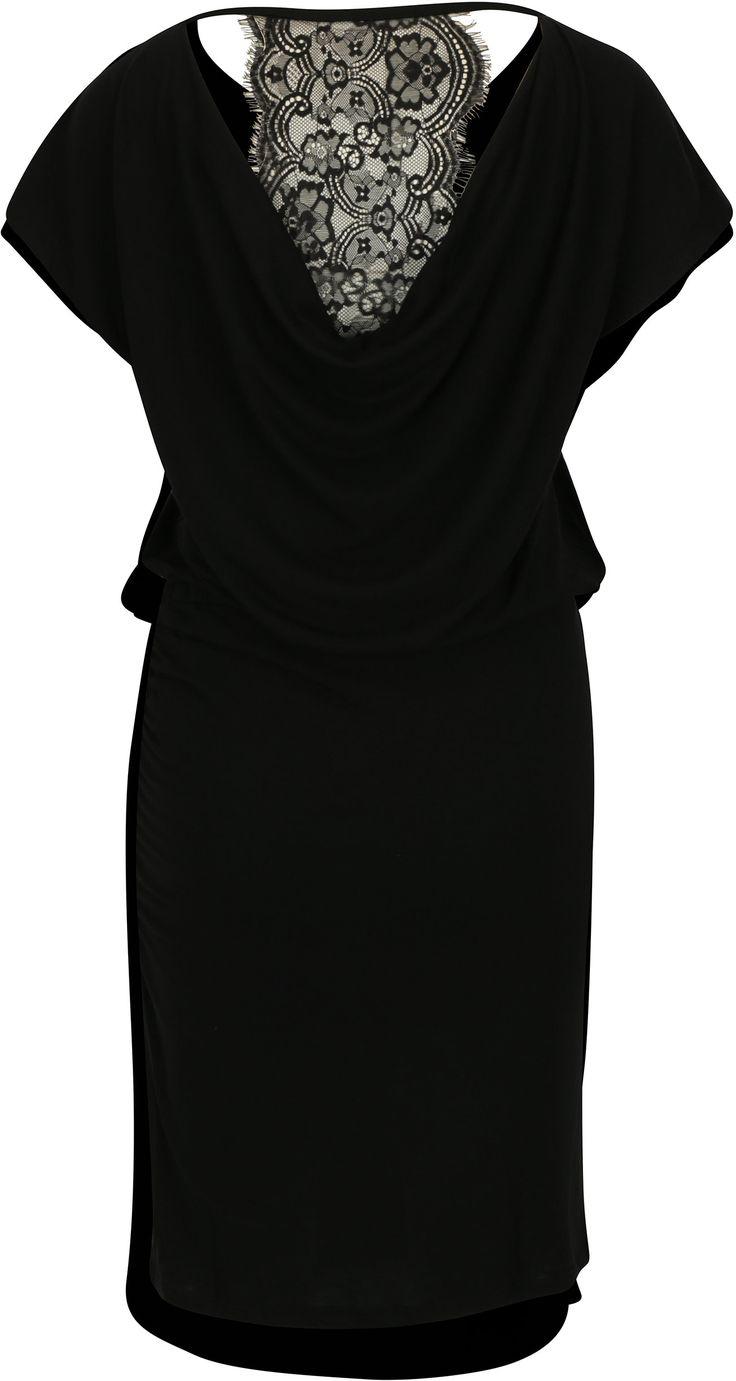 Černé šaty s krajkovými zády ONLY Lilo | ZOOT.cz