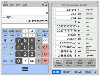 Online Scientific Calculators