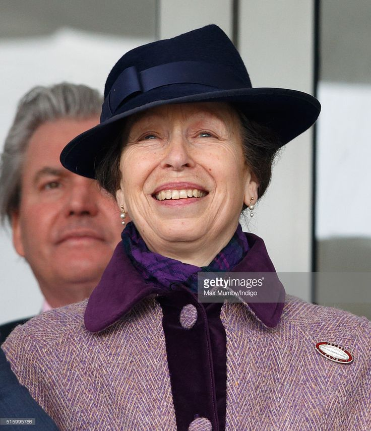 (EMBARGOED FOR PUBLICATION IN UK NEWSPAPERS UNTIL 48 HOURS AFTER CREATE DATE AND TIME) Princess Anne, The Princess Royal watches the racing as she attends day 2, Ladies Day, of the Cheltenham Festival on March 16, 2016 in Cheltenham, England. (Photo by Max Mumby/Indigo/Getty Images)