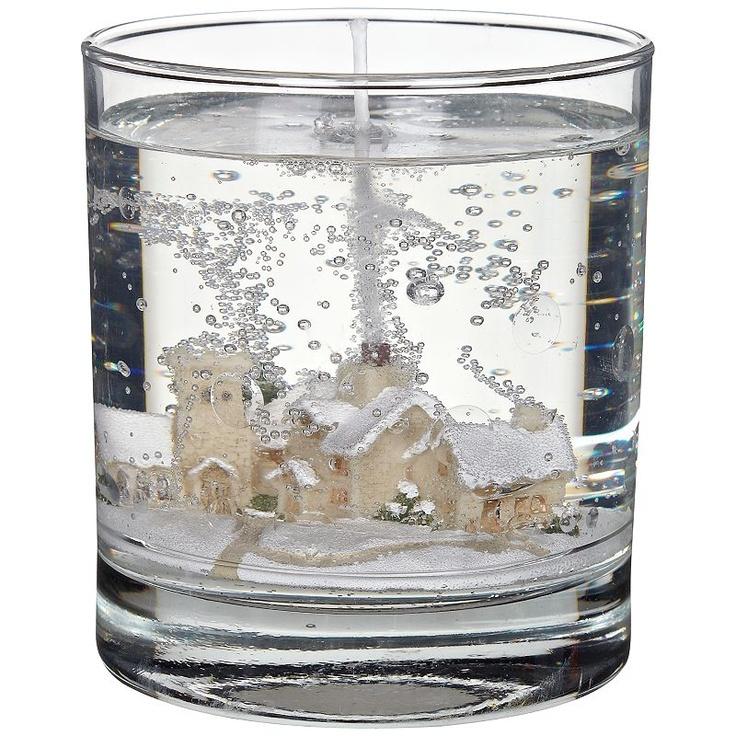 Buy Stoneglow Winter Scene Gel Candle, Medium online at JohnLewis.com - John Lewis