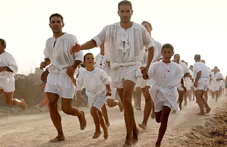 Corsa degli Scalzi #Cabras #Sardegna